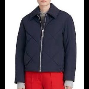Burberry Blue Knowstone Bomber Jacket